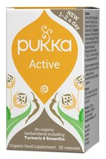 Active 30 kapslar, Ekologisk & Vegan - Pukka Herbs