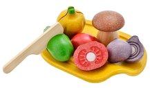 Assorted Vegetable set, Ekologiska grönsaker i trä - PlanToys