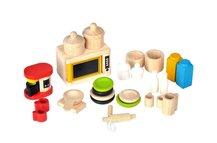 Accessories for Kitchen and Tableware, Ekologiska Dockhusmöbler - PlanToys